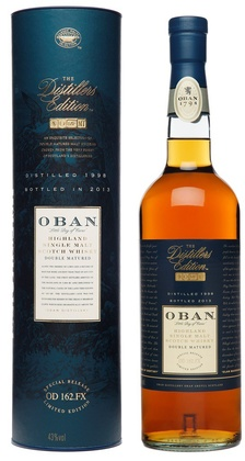 2013 oban distillers edition double matured mo. | prices.