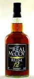 The Real McCoy 12 Year Old Rum